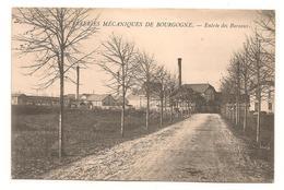Chalon Sur Saone -  Verreries Mecaniques De Bourgogne - Entree Des Bureaux -   CPA° - Chalon Sur Saone