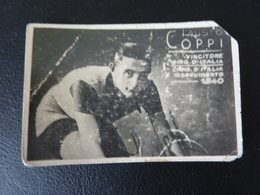 Fausto Coppi 1940 Giro Italia Italy  Cyclisme Radrennen Radsport  Cycling Velo Wielrennen - Radsport