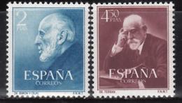 1952   Edifil Nº 1119 / 1120  MNH - 1951-60 Nuevos & Fijasellos