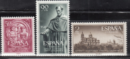 1953   Edifil Nº 1126 / 1128  MNH - 1951-60 Nuevos & Fijasellos