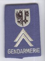 Patte D'épaules Gendarmerie Genevoise - Très Bon état - Equipement