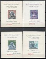 1955-56    Edifil Nº 1344 / 1347  MNH, ( Misma Numeración.) - 1951-60 Nuevos & Fijasellos