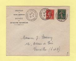 Type Semeuse - Congres De La Paix - St Germain En Laye - 10-9-199 - Musee Des Antiquites Nationales - 1877-1920: Période Semi Moderne