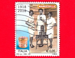 ITALIA - Usato - 2018 - 100 Anni Della Fondazione Del Tonno Maruzzella - Commesse - 0,95 - 6. 1946-.. República