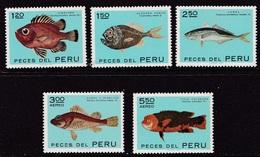 PERU 1972 MNH** - Pesci