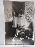 Photo. Sénégal. Femme De Chef Avec Sa Fille. 1927. 9.5x14.5cm - Afrika