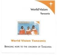 2003 Tanzania World Vision Children  Souvenir Sheet  MNH - Tansania (1964-...)