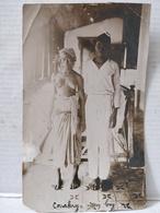 Photo. Conakry. Boy Et Sa Femme. Nu. 1927. 9x14cm - Afrika