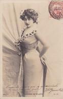 1903 CPA- CARMEN DE VILLERS. REUTLINGER, SIP. CIRCULEE URUGUAY, MONTEVIDEO- BLEUP - Artisti