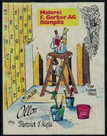 Ollon 1994, Malerei, Fourniture Papier Peints Et Peinture à Bümplitz - Etiquettes