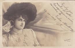 1903 CPA- GILDA DARTHY. REUTLINGER, SIP. CIRCULEE URUGUAY, MONTEVIDEO - BLEUP - Artistes