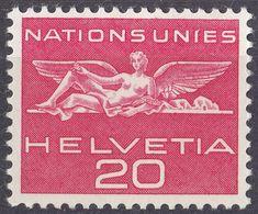 HELVETIA - SUISSE - SVIZZERA - 1955 - Servizio Yvert 365 Nuovo MNH. - Servizio