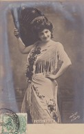 1903 CPA- EMMA CALVE. CIRCULEE URUGUAY, MONTEVIDEO - BLEUP - Artistes