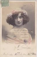 1903 CPA- SUSY. WALERY. COLORISE. CIRCULEE URUGUAY, MONTEVIDEO - BLEUP - Artistes