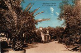 CPA AK Mondorf-les-Bains Promenade Dans Le Parc LUXEMBURG (803672) - Bad Mondorf