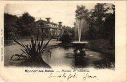 CPA AK Mondorf-les-Bains Piscine De Natation LUXEMBURG (803837) - Bad Mondorf