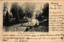 CPA AK Mondorf-les-Bains L'Albach Dans Le Parc LUXEMBURG (803844) - Mondorf-les-Bains