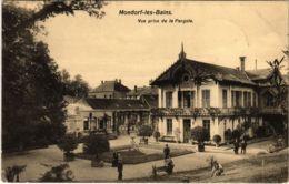 CPA AK Mondorf-les-Bains Vue Prise De La Pergola LUXEMBURG (803847) - Bad Mondorf
