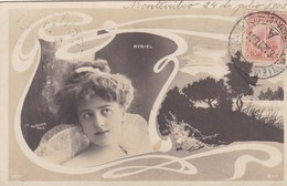 1903 CPA- MYRIEL. REUTLINGER, SIP. CIRCULEE URUGUAY, MONTEVIDEO- BLEUP - Artistes