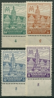 SBZ West-Sachsen 1946 Leipziger Messe Mit WZ X 162/65 A X Unterrand Postfrisch - Soviet Zone
