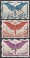 HELVETIA - SUISSE - SVIZZERA - 1924/1933 - Serie Completa Composta Da 3 Valori Usati: Yvert Posta Aerea 10/12. - Poste Aérienne