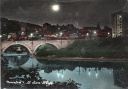MONCALIERI-AL CHIARO DI LUNA-VERA FOTO-VIAGGIATA 1966  F.G - Bridges