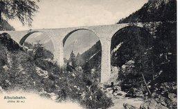 Suisse GR Grisons Albulabahn Pont Viaduc - GR Grisons