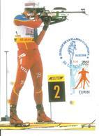 2006 Passage De La Flamme Olympique Vers Torino : Le Touvet - Winter 2006: Torino