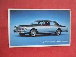 1979  Caprice Classic  4 Dr Sedan  Ref  3460 - Passenger Cars