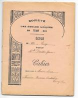 CAHIER Du SOIR Daté De 1934 - SOCIETE DES ECOLES LAÏQUES DE TENAY (Ain) - Toutes Matières -   56 Pages - Diplomas Y Calificaciones Escolares