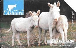 CARTE-MAGNETIQUE-ITALIE-2001-5,16€- PARC  Des ANES-TBE-RARE - Horses