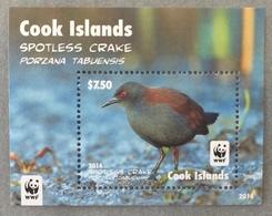 Cook Islands 2014; WWF Animals & Fauna; Birds; MNH, Neuf** Postfrisch; - Cook Islands