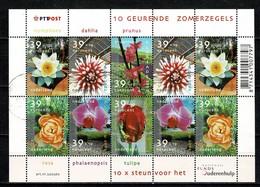 Nederland 2002, NVPH V 2077/82, Mi 1994/99, Yv. 1918/23  Used - Periodo 1980 - ... (Beatrix)