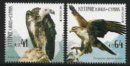 "CHIPRE/ CYPRUS/ ZYPERN/ CHYPRE- EUROPA 2019 -NATIONAL BIRDS.-""AVES - BIRDS - VÖGEL -OISEAUX""- SERIE De 2 V.-N - 2019"