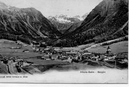 Suisse GR Grisons Albula-Bahn Bergün - GR Grisons
