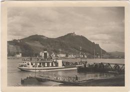 Rheinfahre Blick Auf Drachenfels - & Boat - Drachenfels