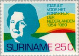 Suriname 1969 15 Jaar Koninkrijks Statuut -NVPH 528 MNH** Postfris - Suriname ... - 1975
