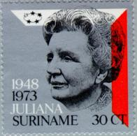 Suriname 1973 25 Years Queen Juliana - NVPH 603 MNH** Postfris - Suriname ... - 1975