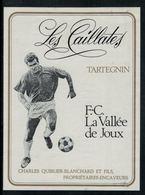 Tartegnin, Les Caillates, F.C. La Vallée De Joux - Football