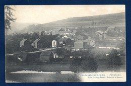 Poupehan Sur Semois (Bouillon). Panorama Avec L'église St. Remacle. - Bouillon