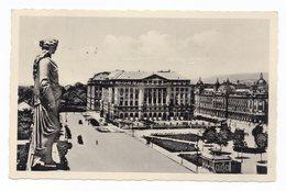 1938 YUGOSLAVIA, CROATIA, ZAGREB TO BELGRADE, SERBIA, HOTEL ESPLANADE , USED ILLUSTRATED POSTCARD - Yugoslavia
