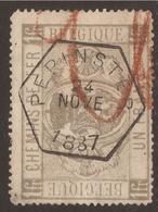 BELGIUM RAILWAY PARCEL POST. PEPINSTER POSTMARK ON 1f. USED - Usati