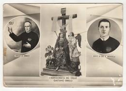 Santino Cartolina Antico Non Viaggiata Madonna Addolorata Del Venerabile Gaetano Errico - Religion & Esotericism