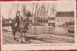1948 Kasterlee Tuk Op Buit Langs Kastel Nete Neteboorden Brabants Trekpaard - Kasterlee