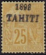 TAHITI - 25 C. De 1893 Neuf FAUX - Tahiti