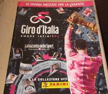 GIRO D'ITALIA AMORE INFINITO1 ALBUM PANINI - Edizione Italiana