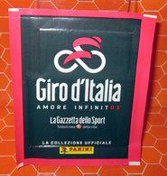 GIRO D'ITALIA AMORE INFINITO1  PANINI BUSTINA NUOVA NEW SIGILLATA 2018 - Edizione Italiana