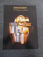 Publicité Papier Parfum - Perfume Ad : BOUCHERON La Collection Du Joaillier France 2006 - Advertisings (gazettes)
