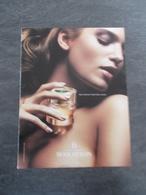Publicité Papier Parfum - Perfume Ad : BOUCHERON B France 2008 - Advertisings (gazettes)