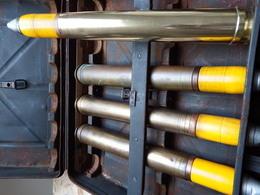 Réplique Ogive D'obus Flak 3,7 Cm Allemand WW2 échelle 1:1 - 1939-45